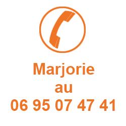Marjorie à votre écoute