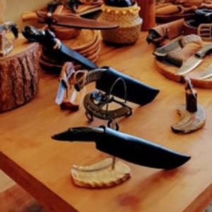 Les couteaux Cazorla pièce unique d'art